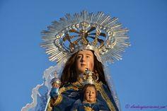 Hoy la Virgen del Castillo abandona la Iglesia de San Juan Bautista y Santo Domingo Silos de Chillón, para volver a su Ermita
