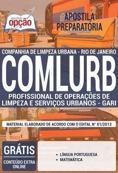 Apostila Concurso Comlurb 2019 Pdf Download Profissional De