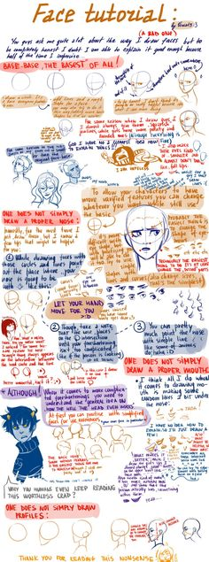 Faces tutorial by the lovely Viria!!