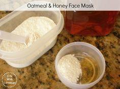 Oatmeal-Honey-Face-Mask