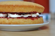 Cannot beat a standard Victoria Sponge.