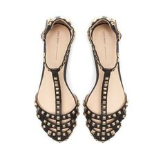 STUDDED SANDAL - Shoes - Woman - ZARA United States - Can't wait to wear these!