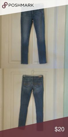 Abercrombie & Fitch jeggings Size 00 Short, worn but great condition. Abercrombie & Fitch Jeans Skinny
