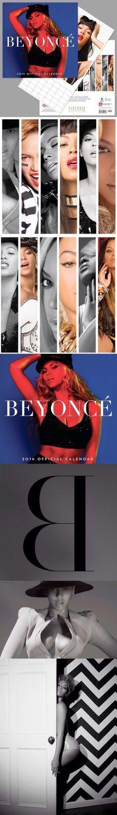 2014 Beyonce Calendar