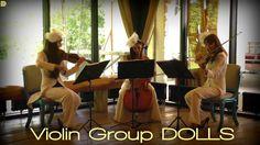 Музыка на встречу гостей - скрипки и виолончель Violin Group DOLLS