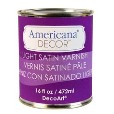 DecoArt Americana Decor 16-oz. Light Satin Varnish