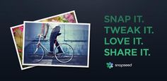 Snapseed is the only photo app you'll want to use every day. It makes any photograph extraordinary with a fun, high-quality photo experience right at your fingertips...