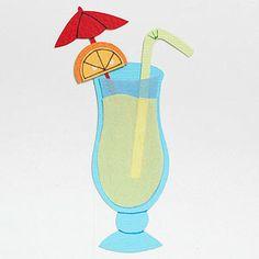 Cocktail Paper-Piecing Pattern