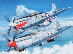 Flying Cheetahs: SAAF Mustangs in Korea The Mustang and the SAAF did not meet for the first time in Korea. Early models of this Briti. Ww2 Aircraft, Fighter Aircraft, Military Aircraft, Harry Truman, Suwon, Mustang 67, Time In Korea, South African Air Force, Cheetahs