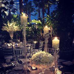 Love the modern feel in this crystal garden! #loveislivenitup