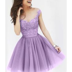Sexy Sccop Neck Sleeveless See Through Appliques Women s Dress (£11) ❤ liked on Polyvore featuring dresses, light purple, sexy dresses, transparent dress, sleeveless cocktail dress, sleeveless dress and purple sleeveless dress