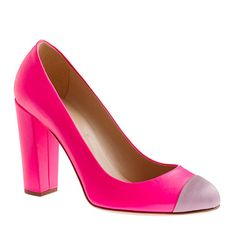 Italian Shoe Collection... how am I just finding out about this??? Etta satin cap toe pumps