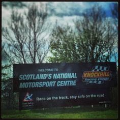 Knockhill Racing Circuit in Dunfermline, Fife
