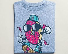 View Surf Shirts by BuyVintageShirts on Etsy Skater Shirts, T Shirts, Surf Shirt, Graffiti, African Safari, Street Art, Vintage Shirts, Tshirts Online, Vintage Designs