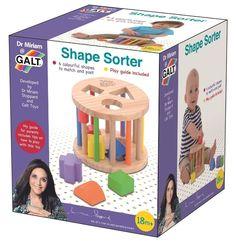 Galt Shape Sorter, £14.99