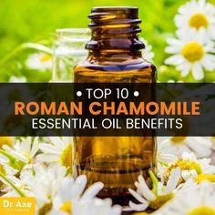 Roman chamomile essential oil - Dr.  http://www.draxe.com #health #holistic #natural