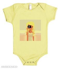 Creative baby Cloth : yellow with photographer Girl News Design, Onesies, Yellow, Creative, Kids, Baby, T Shirt, Shopping, Clothes