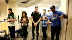 Video: Pentatonix Serenades the ABC World News Staff. Seriously they kill it everytime!