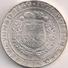 Motivseite: Münze-Europa-Mitteleuropa-Österreich-Schilling-50.00-1974-Gendarmerie Austria, Coins, Personalized Items, Rooms