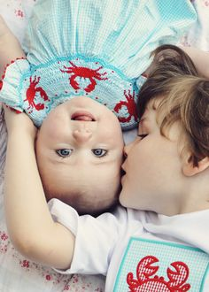 this is a brother and sister but the photo is precious