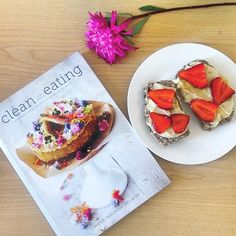 Sweet, soulful strawberry-sprinkled snacking by inspired by our Clean & Simple Eating Cook Book
