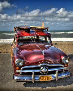 1949 Ford Woody station wagon by CayerPhoto on Etsy,