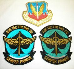 USAF Patches from 436th Tac Fighter Training Squadron | eBay