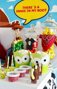 Toy Story Party Table Ideas