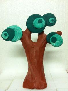 plastelina tree