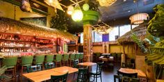 If the line outside the door on a recent Friday night is any indication, Oakland's new neighbor, The Kon-Tiki, is a buzzy respite these chilly winter nights.                                     The watering hole opened its doors only a few weeks ago, and has been slinging tropical drinks and island-...