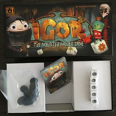 FEEDBACK: Games day today and one of the regulars rocks up with this gem, so we needed to post it. A #ReinerKnizia game, Igor illustrates the huge box, tiny game issue, it actually made us laugh when she opened it. Ever had a WTFBox? Moment? #bgg #boardgames #boardgamegeek #cardgame #disappointed #wtfbox #tabletop #tabletopgame #igor #gamesday #boardgamer #monsters #criticalmiss