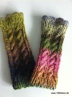 Klik for at se et større billede Knitting Accessories, Chrochet, Luxembourg, Knitting Projects, Leg Warmers, Fingerless Gloves, Mittens, Crafts, Handmade