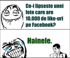 Ce-i lipsesc unei fete cu 10 000 like-uri True Stories, Haha, Jokes, Humor, Comics, Funny Stuff, Meme, Funny Things, Chistes