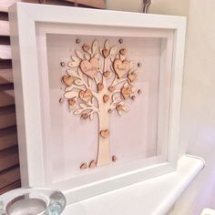 Personalised Family Tree Picture - Up to 4 names/details by ThePurpleOwlTree on Etsy https://www.etsy.com/listing/220640439/personalised-family-tree-picture-up-to-4