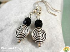 Earrings Lovely little snails by Chicandfrog on Etsy