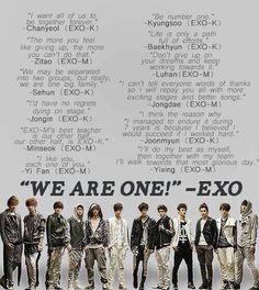 It's their anniversary yesterday ♥ WE ARE ONE! I love you Sehun, I really do. Kpop Exo, Exo Chanyeol, Exo K, Kyungsoo, Exo Promise Lyrics, Happy One Year Anniversary, 1st Anniversary, Exo Facts, Exo Songs