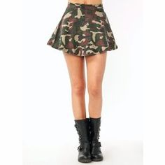 #GoJane                   #Skirt                    #Camo #Skater #Skirt #GoJane.com                    Camo Skater Skirt - GoJane.com                                                http://www.seapai.com/product.aspx?PID=1867158