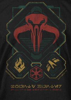 J!NX : Star Wars: The Old Republic Bounty Hunter Class Premium Tee - Clothing Inspired by Video Games & Geek Culture