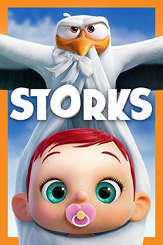 First trailer and poster for the animated film STORKS featuring the voices of Kelsey Grammer, Andy Samberg, Jordan Peele and Keegan-Michael Key. Streaming Movies, Hd Movies, Disney Movies, Disney Pixar, Movies To Watch, Movies Online, Hd Streaming, Andy Samberg, Disney Cinema