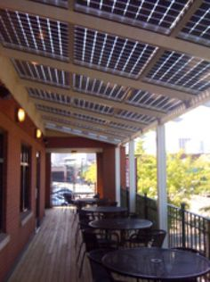 Perfect Solar Patio Covering
