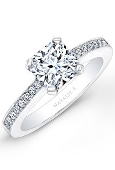 Princess Engagement Rings and Wedding Bands | Brides.com  (WOW...this one is awesome...simply yet beautiful!!! LS)