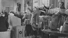 Filmszene Kroatisches Parlament 1941 (Filmarchiv Zagreb)