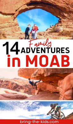 Looking for the best things to do in Moab with kids? Enjoy a Utah vacation this summer in and around Moab with our perfect Utah itinerary and what to pack for hiking list . Utah hiking with kids is fun on easy trails in Arches National Park and Canyonlands the most beautiful of Utahs parks. Everything from where to mountain bike and beautiful waterfalls to photograph and enjoy! Put Moab on your family bucket list for an exciting adventure vacation destination in Utah! Zion Utah, Moab Utah, Utah Hikes, Utah Camping, Utah Vacation, Utah Adventures, Hiking With Kids, Beautiful Waterfalls, Arches