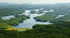 Lower Saranac Lake in the northern Adirondacks