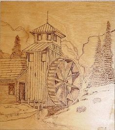 free pyrography patterns | Pyrography