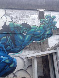 Urban Art New Plymouth, New Zealand.