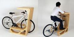 Bike Criativa. Um ótimo jeito de interligar o trabalho à atividade física.