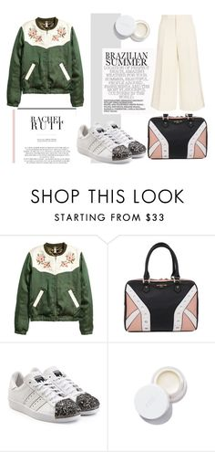 """""""Untitled #419"""" by marija2132 ❤ liked on Polyvore featuring Elodie, Rachel, adidas Originals, rms beauty and Joseph"""