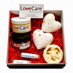 LoveCare Naturals is a bath and body company that prides itself on all products being handcrafted with Love, Care, and Natural Ingredients. Love Box, Bath Bombs, Self Care, Lip Balm, Peppermint, Bath And Body, Gift Guide, Cocoa, Gifts For Her