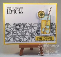 Color Me Washi Tape with Make Lemonade by Fun Stampers Journey ... fun fun card